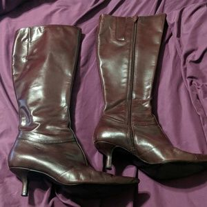 Nine West Knee High Boots size 6